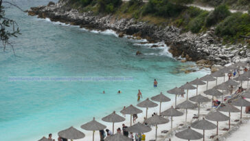 Marble Beach Thassos Island Greece (1)