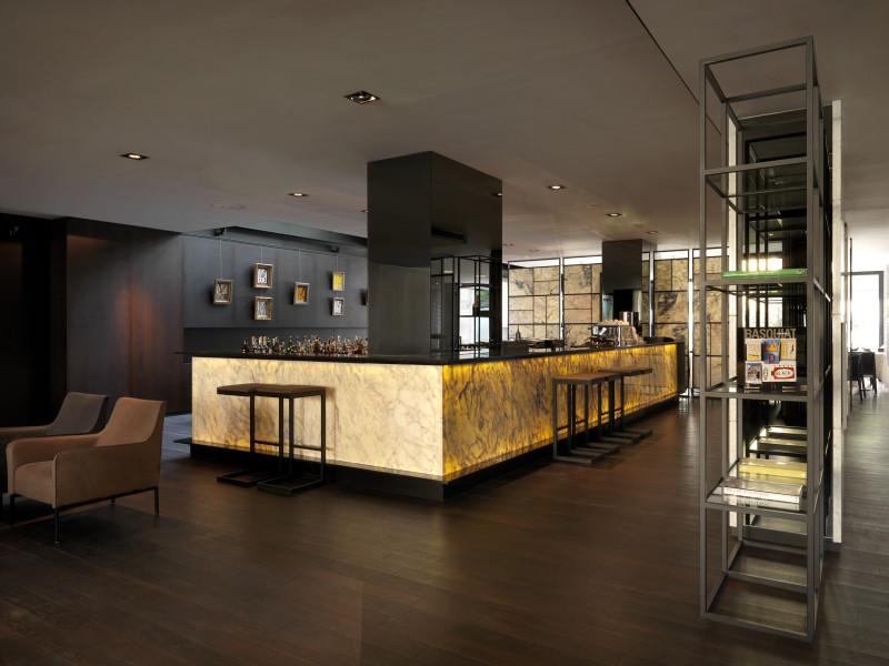 Hotel Sense Sofia lobby bar