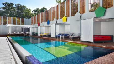 Luxury Studios Bali Indonezia pool