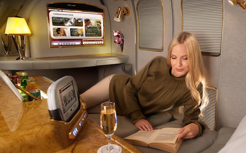 Emirates first class seats