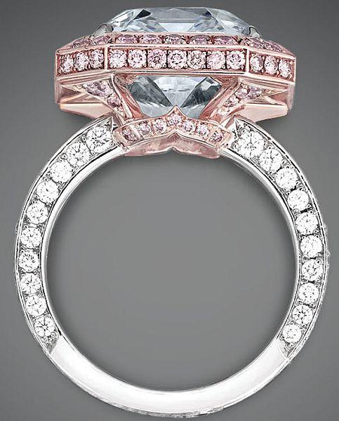 Blue Diamond World`s Most Expensive Diamond ring