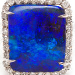 18k white gold ring from Kimberly McDonald